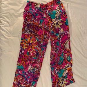 Lilly Pulitzer Silk Pants